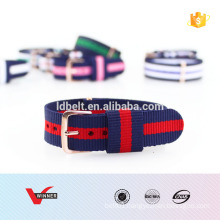 HOT SALE strips color nylon straps watch strap