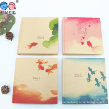 Eco-Friendly Paper Square Hardcover Notebook in Stock (NP-Y-A0012)