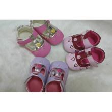 Chaussures de bébé respirantes à manches longues Chaussures de bébé coton (BH-6)