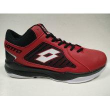 Мужская обувь лучшего качества с красной обувью Baskteball Lt4178bm