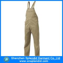 China Fabricação Europeia de Alta Qualidade Homens Construção Workwear Macacões