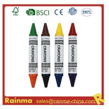 Crayon Jumbo com cor de ponta dupla