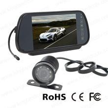 7inch обратного зеркала монитор системы с мини-камера автомобиля