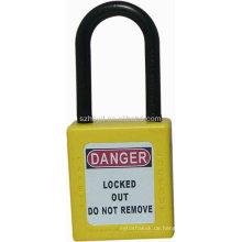Isolierung Anti-Magnetismus Keyed gleich ABS Sicherheit Vorhängeschloss Vorhängeschlösser mit Hauptschlüssel