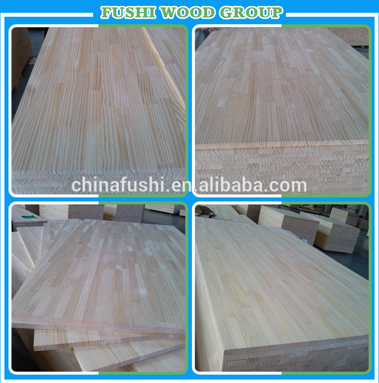 Pine gluam board