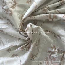 Tissu de rideau de fenêtre en polyester mouillé Morden 2016