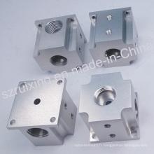 Pièce de rechange en aluminium de usinage de commande numérique par ordinateur pour l'équipement industriel