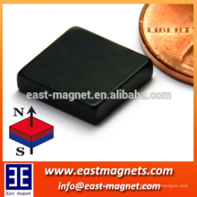 "N42 Rectangle Neodymium Magnet 3/8x3/8x1/8"" Rare Earth Epoxy Coated"