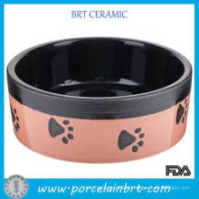 Pink Dog Foot Decal Pet Accesories Dog Bowl