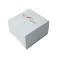 Белые модные бумажные коробки для украшений