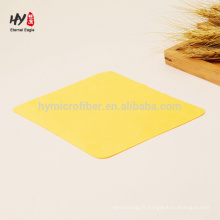 Chiffon de nettoyage microfibre confortable coloré en gros