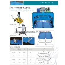 Best Join JCX 470--hedden metal hose roof roll forming machine