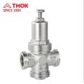 Messing geschmiedeter Kolben-Druck verringern Ventil PRV Messing-Präzisionsdruckminderventil