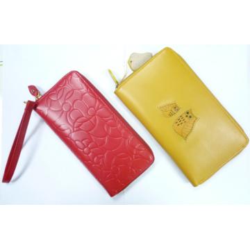 Portefeuille en cuir / Notecase (WD-005) Portefeuille