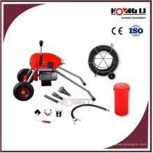 D200 drum drain cleaner machine / toilet pipe cleaner machine