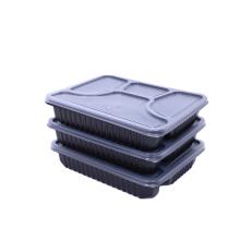 Одноразовая пластиковая коробка для еды на вынос