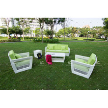Wicker Patio Poly Rattan Couch Set For Outdoor Garden