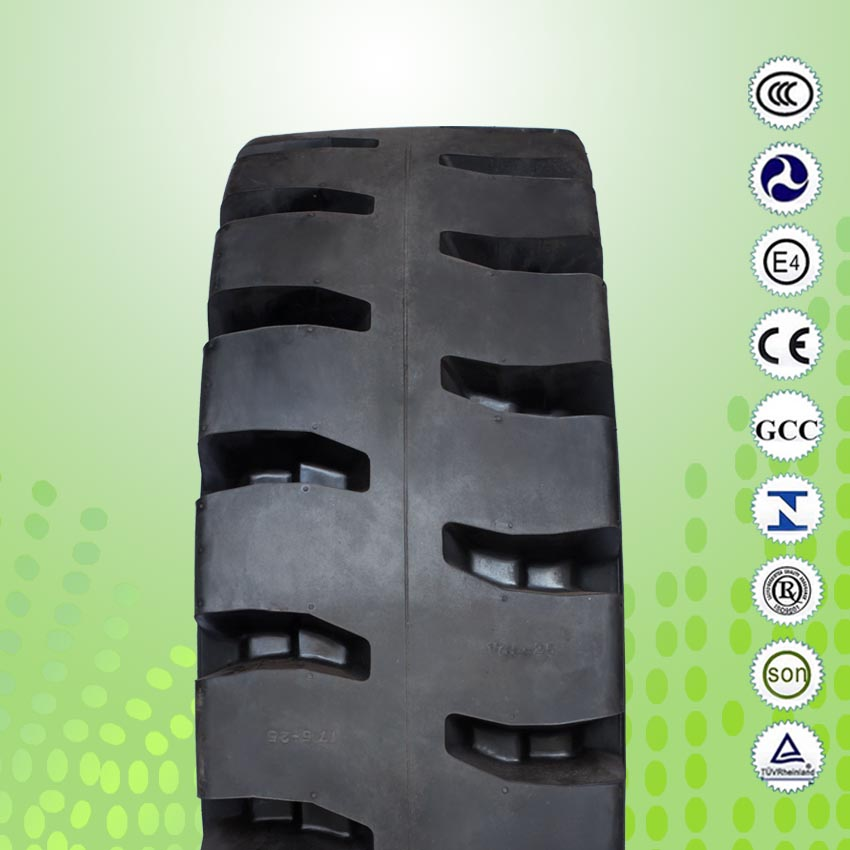 Forklift Solid Tires with Click