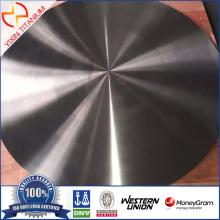 टाइटेनियम डिस्क पॉलिश सतह Dia350 × 30mm