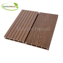 Popular Wood Plastic Composite Decking with Ce, ISO9001, ISO14001, SGS.