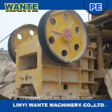 Stone Crusher Backenbrecher weit verbreitet in Bergbau, Schmelzen, Baustoffe, Straßen, Eisenbahnen verwendet