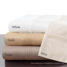 Madison Park Signature Juego de sábanas de algodón Pima de gran tamaño 600TC