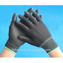 13 Gauge Nylon Handschuhe mit PU Palme beschichtet