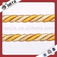 2013 La mejor venta de cables de cuerda textil cuerda de cable de algodón cuerda