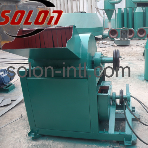 Automatic wood sawdust pallet block machine