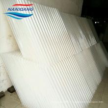 Tubes d'emballage inclinés de nid d'abeilles de PVC de pp / décanteur de tubercule pour le traitement des eaux usées