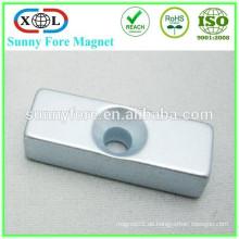N52 Senkkopf Quadrat Form quadratisch Schweißen Magnet