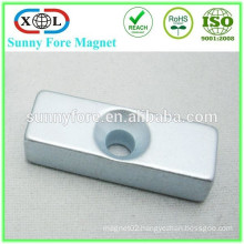 N52 Countersunk Square Shape Square Welding Magnet