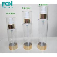 120ml bomba de loção plástica garrafa garrafas de cosméticos 100ml 135ml 150ml