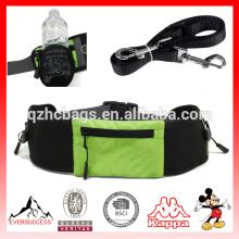 Bolsa de entrenamiento para perros con cinturón para mascotas Pet Treat Bottle Holder y correa