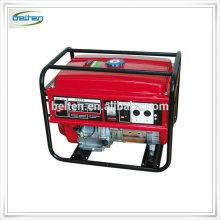 6KVA Benzin Einphasen-Benzin-Generator mit Griff und Räder