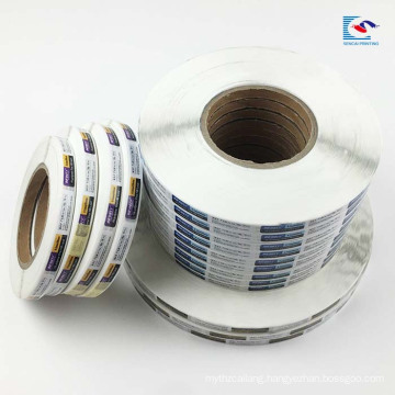 Customs roll ball-point pen pencil label stickers electronic circuit