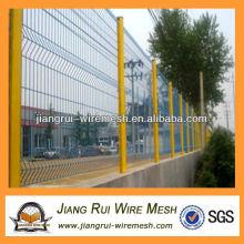 Цветной пластиковый забор