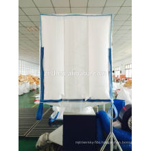 Hot sale one ton white pp jumbo bag FIBC for cement,sand,fertilizer with competitive price