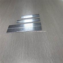 4343 3003 Tube de verre sablé en aluminium à alvéoles d'extrusion