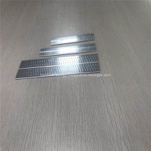 4343 3003 Extrusion Dimple Aluminum Hour Glass Tube