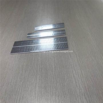 4343 3003 Tube de sablier en aluminium à fossettes d'extrusion