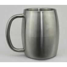 Caneca de cerveja de aço inoxidável 450 (CL1C-M15-B)