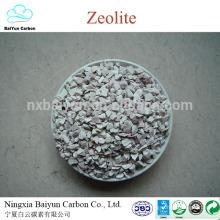 zéolite naturelle clinoptilolite pour l'usine de traitement de l'eau zéolite prix