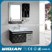 Hangzhou Hot Mirrored Vanity Furniture Cabinet de salle de bains en acier inoxydable