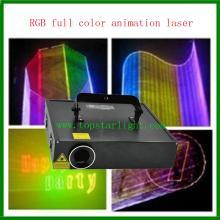 Giá rẻ DJ hoạt hình đầy màu sắc thiết bị RGB Laser chiếu sáng