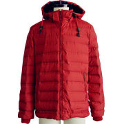 Men's down jacket, new kind fabric without sewing, keep down safely, fashion style