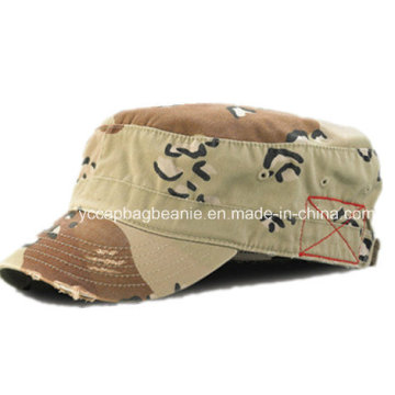 Fashion Military Cap, Washed Military Cap