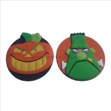 Cartoon Soft PVC 3D Coaster no design criativo (Coaster-24)