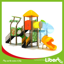 China Factory Multifunction Cheap Play Sets with Tube Slides