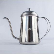 700ml de aço inoxidável despeje sobre chaleira de café